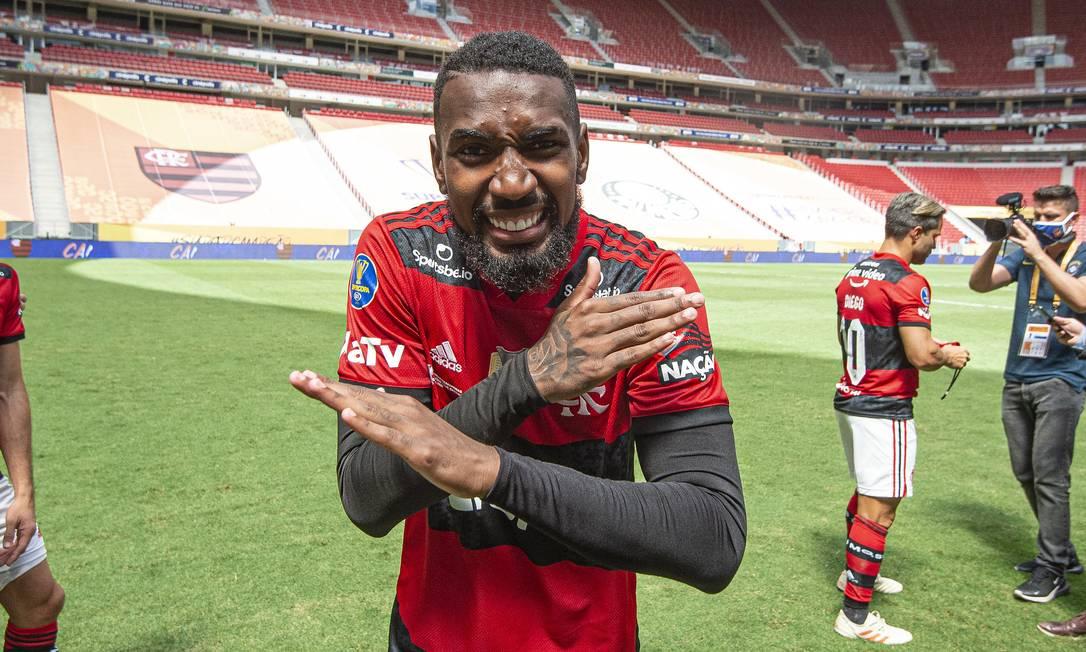 Gerson é peça-chave no Flamengo Foto: Alexandre Vidal / Flamengo