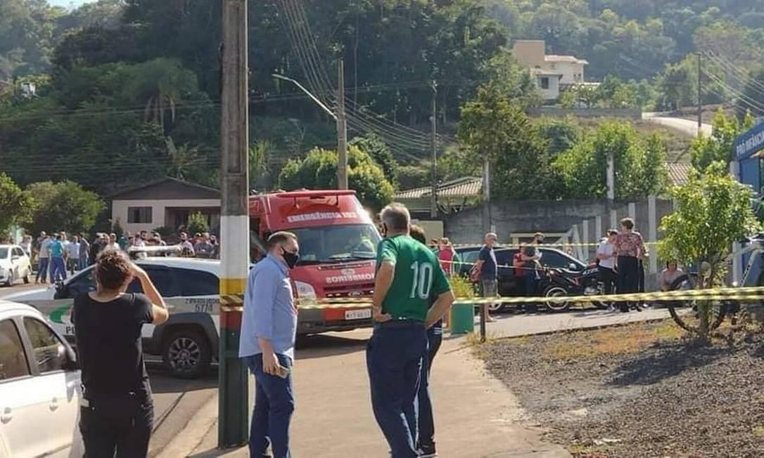 Jovem de 18 anos invadiu escola e matou cinco em Saudades (SC) Foto: Reprodução/Redes Sociais