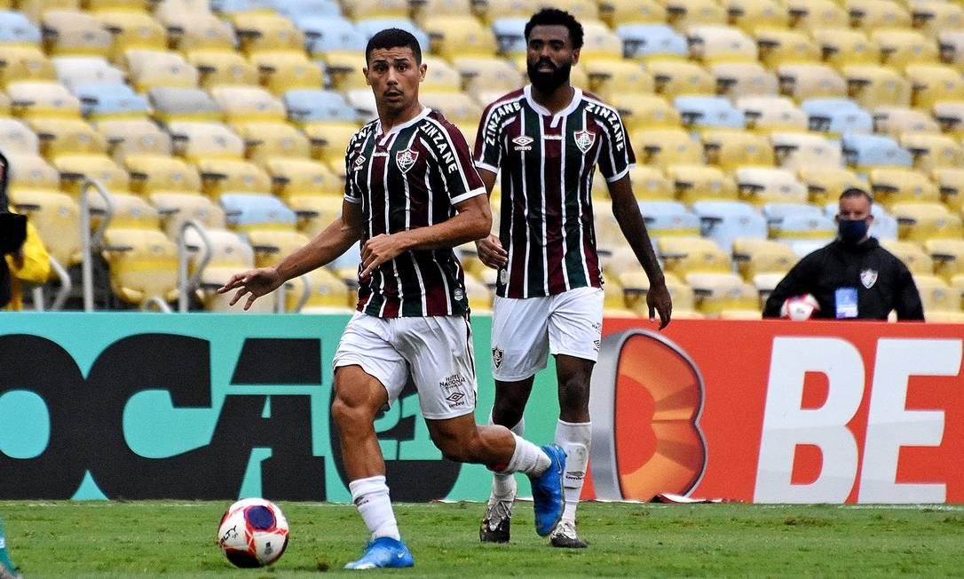 André é 'novidade' na delegação do Fluminense Foto: Mailson Santana/Fluminense FC / Mailson Santana/Fluminense FC