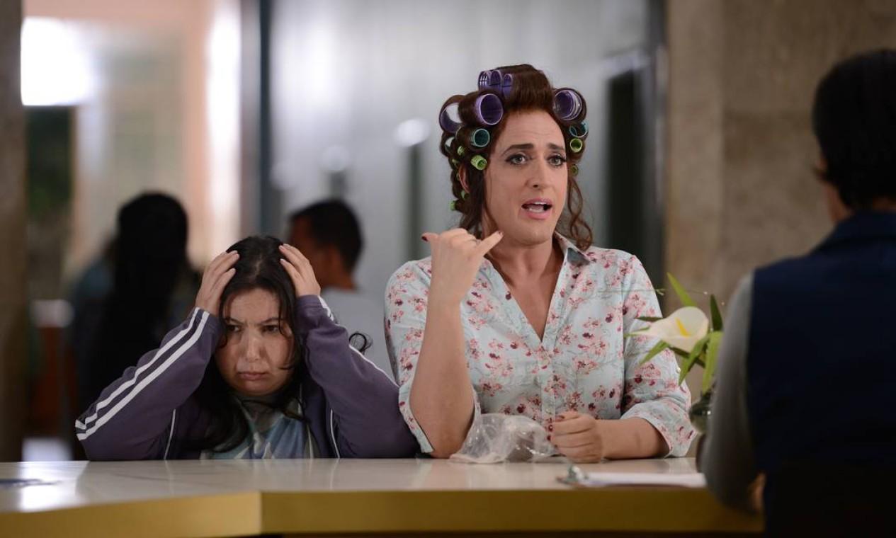 'Minha mãe é uma peça', filme disponível no Telecineplay, YouTube Play e Google Play. Foto: Divulgação