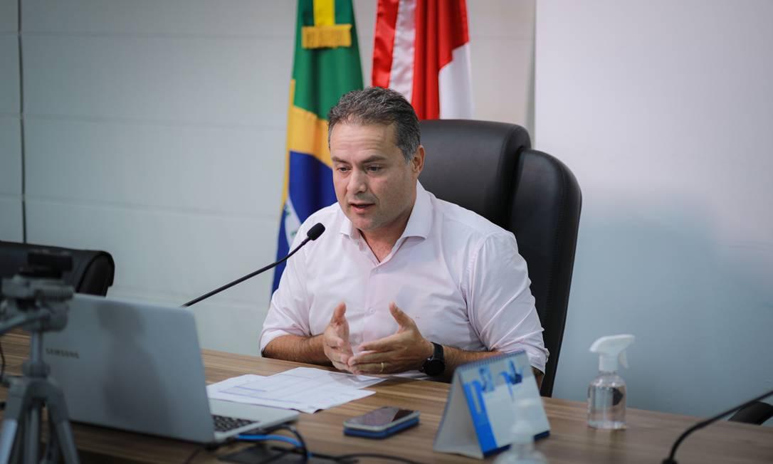 Governador de Alagoas, Renan Filho (MDB), filho do ralator da CPI da Covid, Renan Calheiros (MDB-AL) Foto: Agência O Globo
