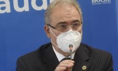 O ministro da Saúde Marcelo Queiroga Foto: Tony Winston / MS