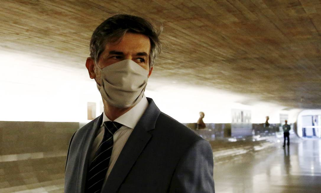 Nelson Teich foi ministro da Saúde depois de Henrique Mandetta e pediu demissão do cargo menos de um mês depois da nomeação Foto: Pablo Jacob / Agência O Globo - 05/04/2021