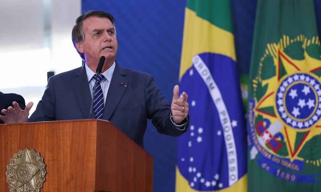 O presidente Jair Bolsonaro 05/05/2021 Foto: Marcos Correa / Divulgação