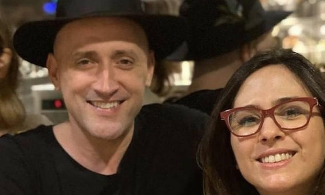 Paulo Gustavo e Tatá Werneck: 'Nunca passei um dia mais ou menos com ele', diz ela Foto: reprodução