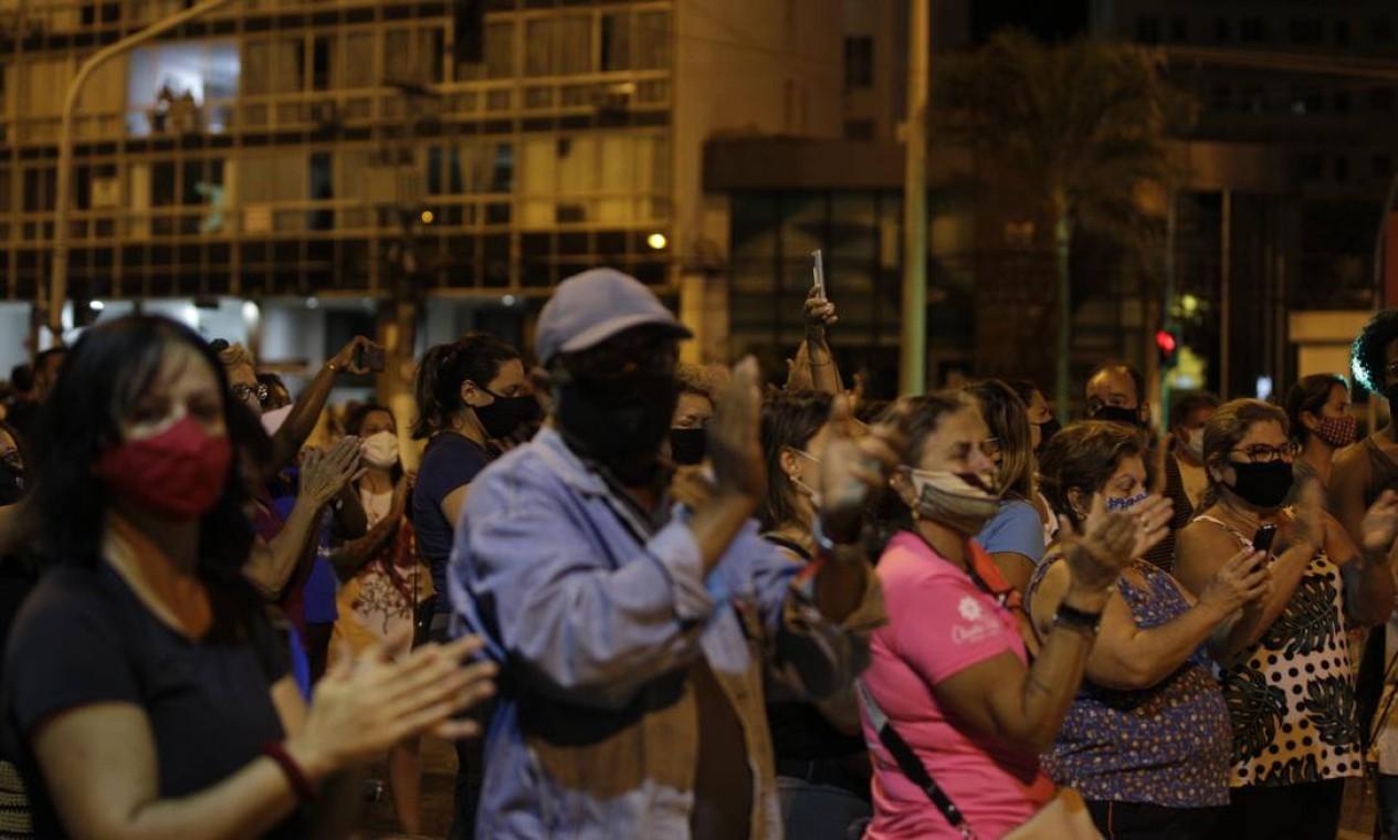 Homenagem ao ator e humorista Paulo Gustavo Foto: Alexandre Cassiano / Agência O Globo