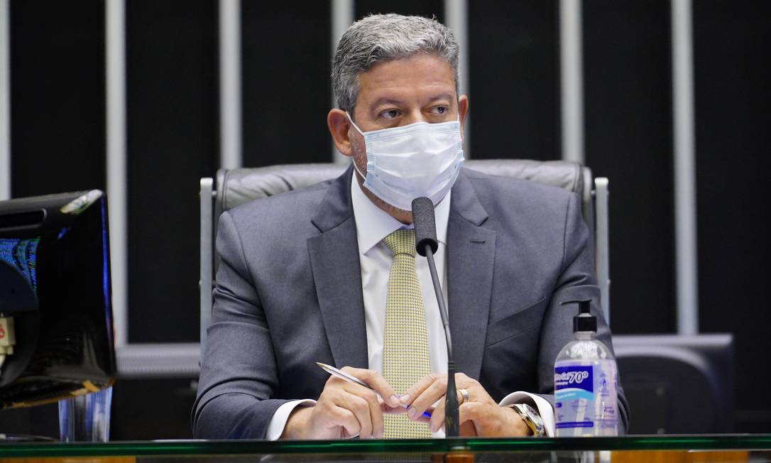 O presidente da Câmara, Arthur Lira (PP-AL) Foto: Pablo Valadares/Câmara dos Deputados / Divulgação/20-4-2021