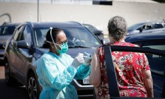 Campanha de vacinação contra gripe em 2020 Foto: Pablo Jacob / Agência O Globo