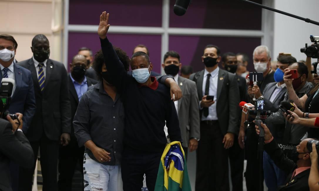 Robson, ex-motorista do jogador Fernando, retornou ao Brasil após dois anos preso na Rússia Foto: Roberto Moreyra