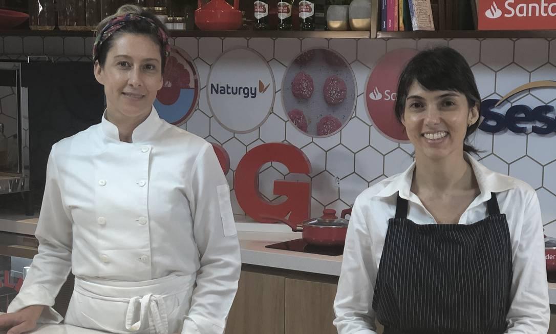 Fernanda Colin e Joana Eisenstadter Foto: Reprodução