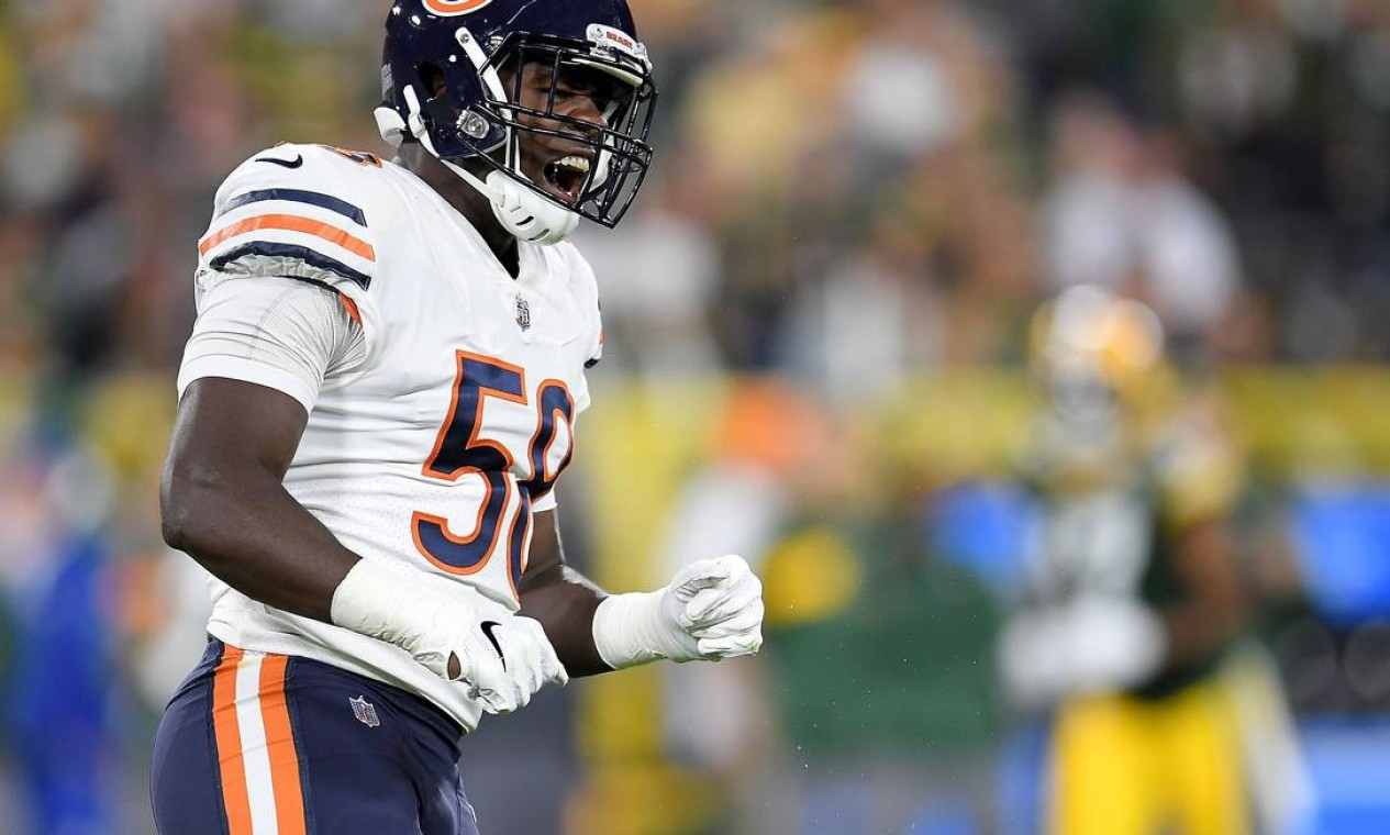 18º - Chicago Bears (NFL): 3,53 bilhões de dólares Foto: Stacy Revere / AFP