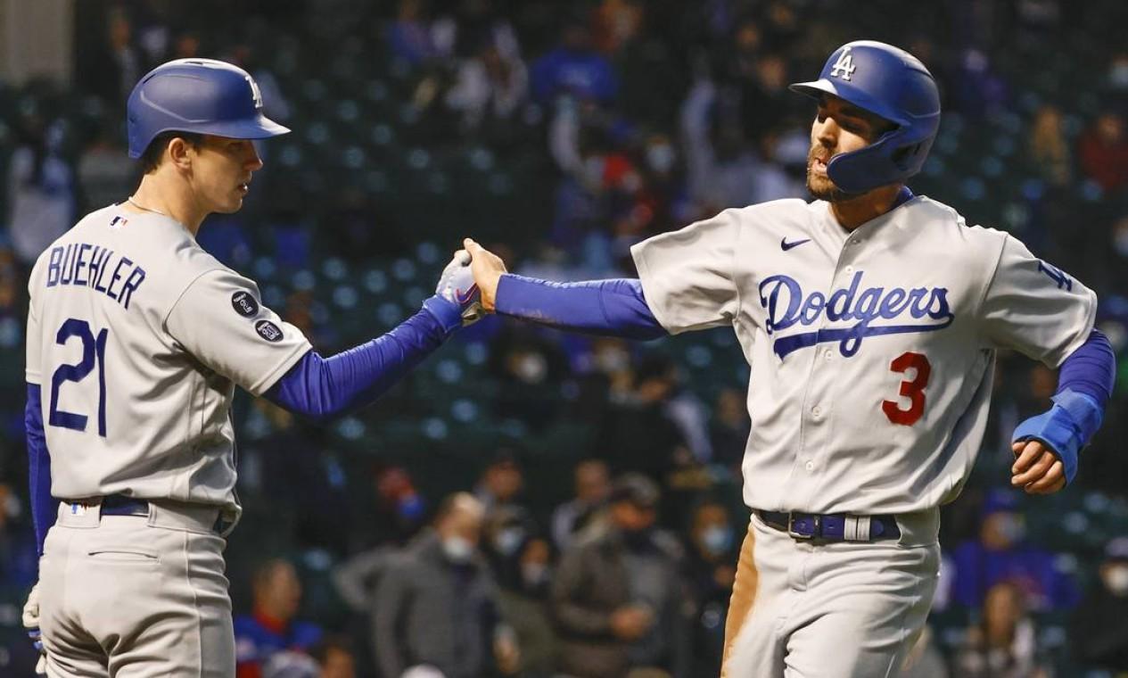 16º - Los Angeles Dodgers (MLB): 3,57 bilhões de dólares Foto: Kamil Krzaczynski / USA TODAY Sports
