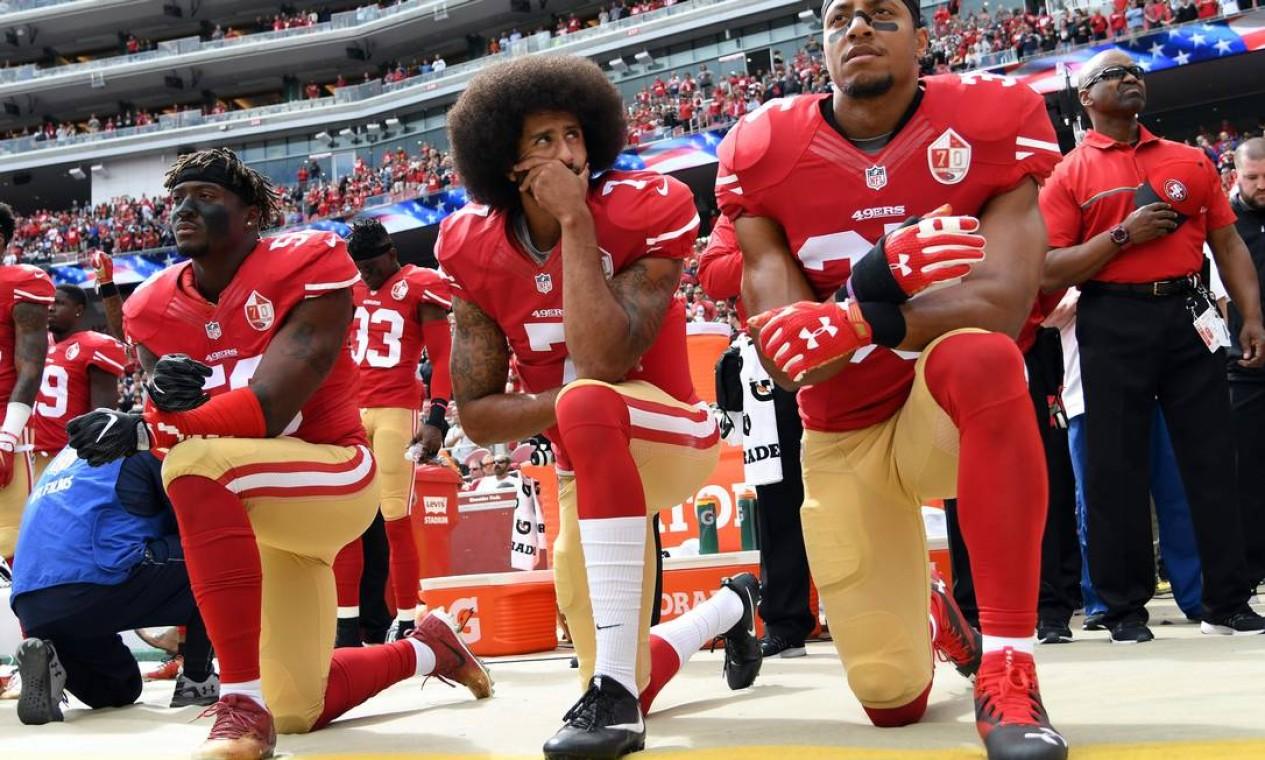 15º - San Francisco 49ers (NFL): 3,8 bilhões de dólares Foto: THEARON W. HENDERSON / AFP