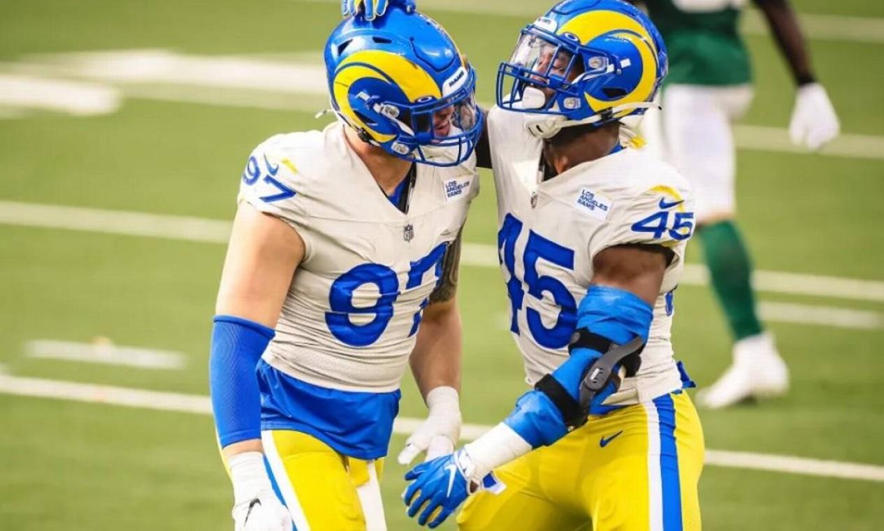 13º (empate) - Los Angeles Rams (NFL): 4 bilhoes de dólares Foto: Los Angeles Rams