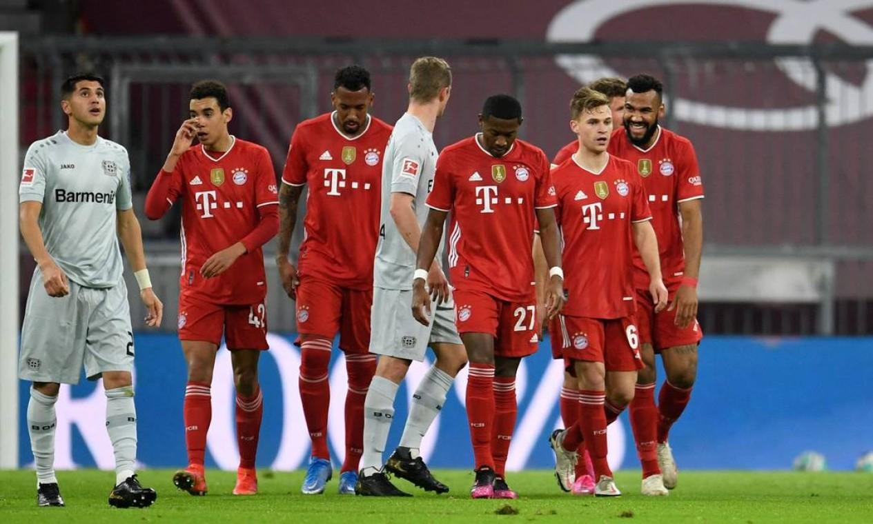 10º - Bayern de Munique (futebol): 4,21 bilhões de dólares Foto: ANDREAS GEBERT / AFP