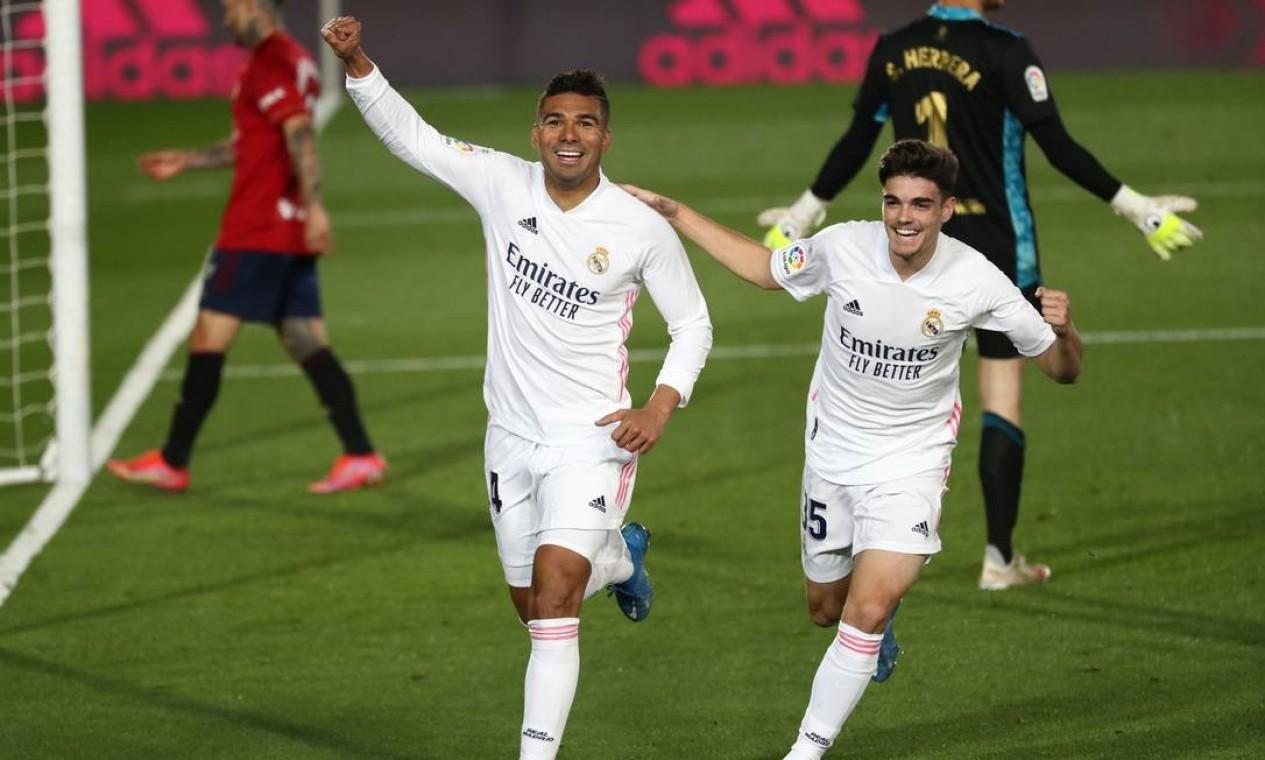 5º - Real Madrid (futebol): 4,75 bilhões de dólares Foto: SUSANA VERA / REUTERS