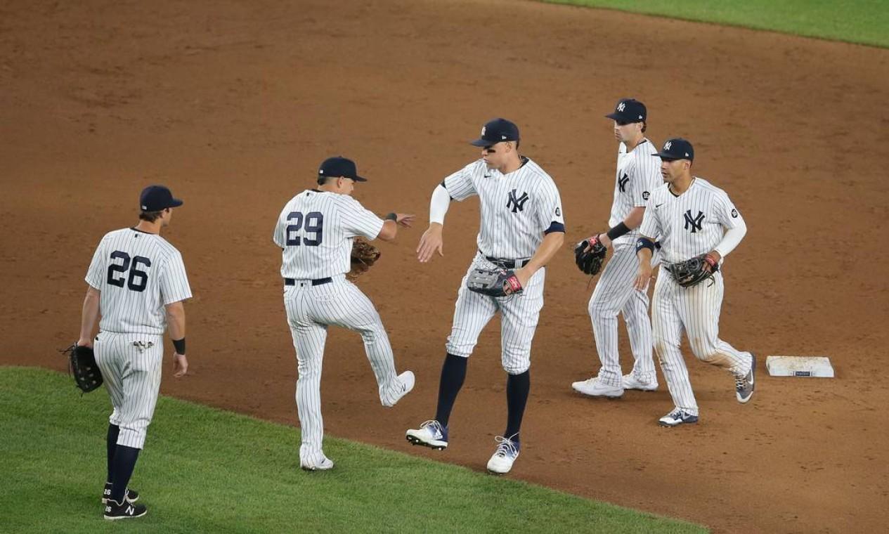 2º - New York Yankees (MLB): 5,25 bilhões de dólares Foto: Brad Penner / USA TODAY Sports