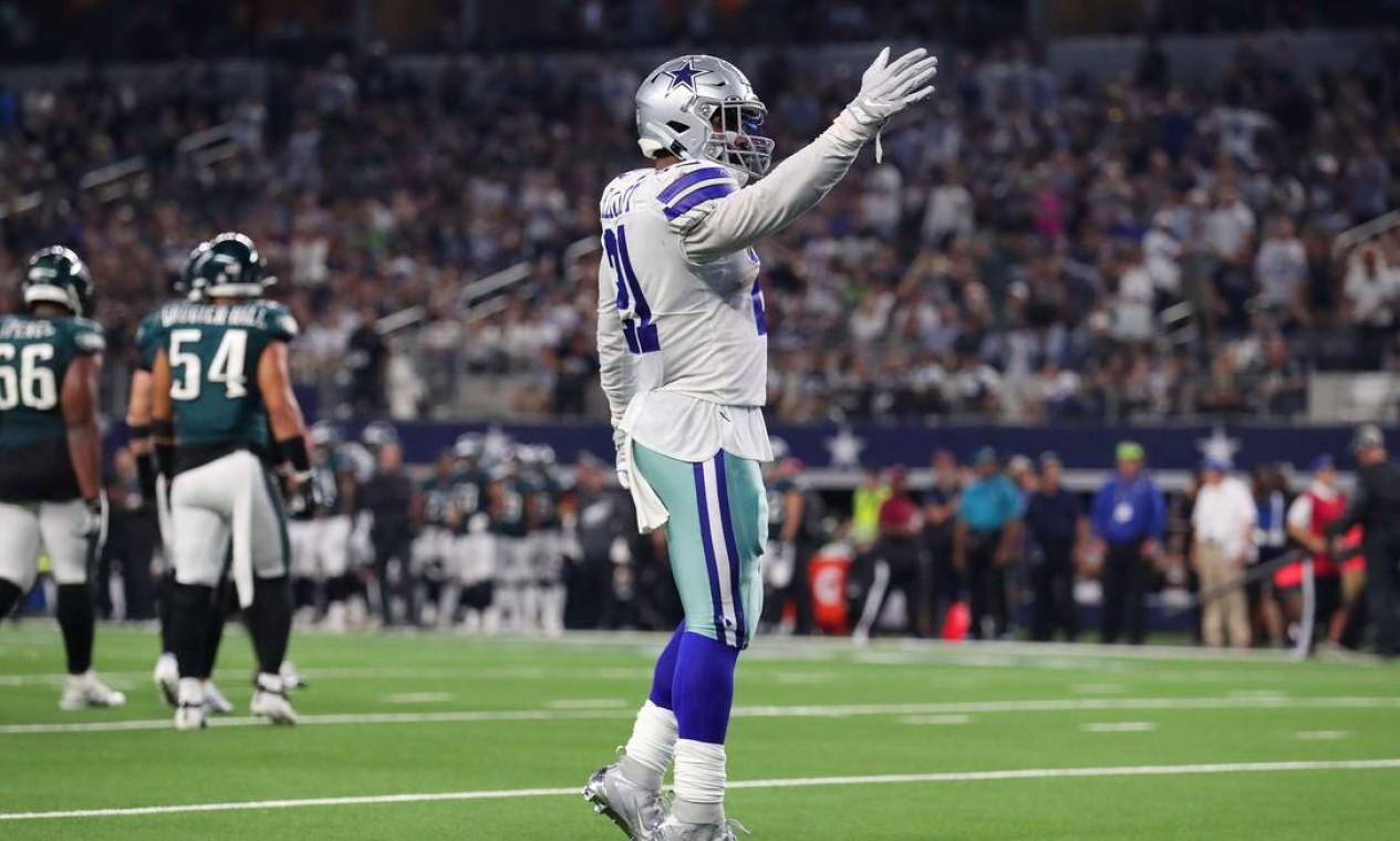 1º - Dallas Cowboys (NFL): 5,7 bilhões de dólares Foto: TOM PENNINGTON / AFP
