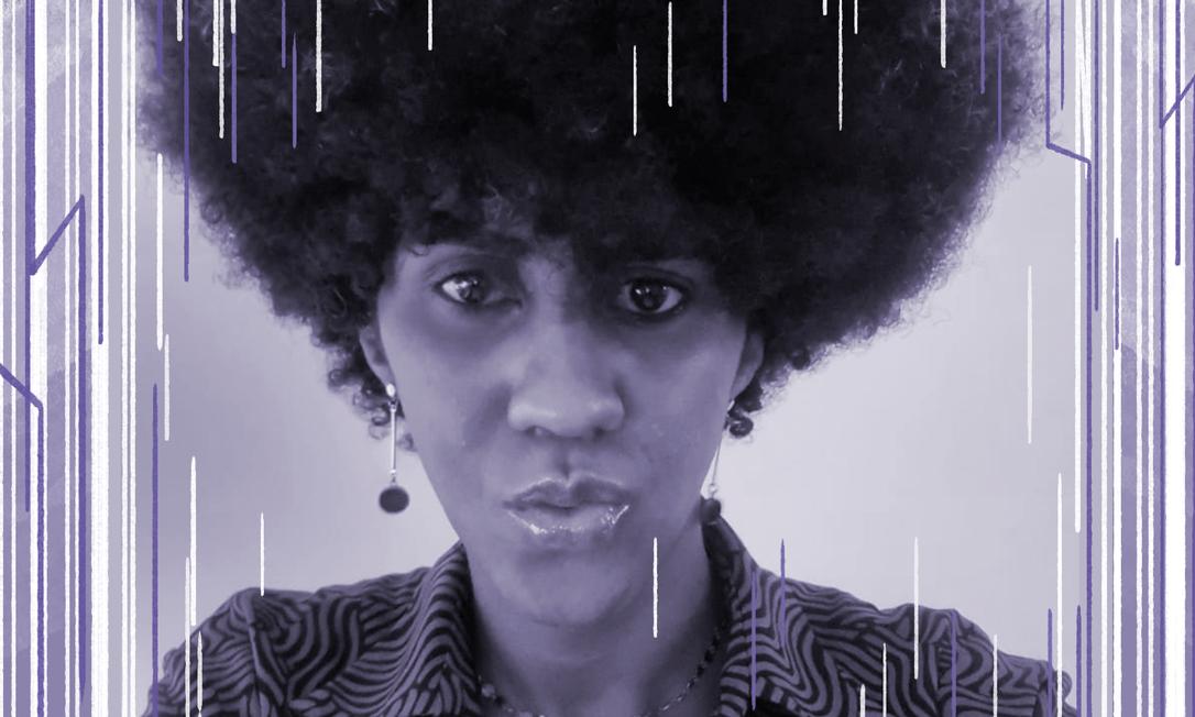 Matuzza Sankofa é mãe, mulher trans e diretora da Casa Chama Foto: Reprodução