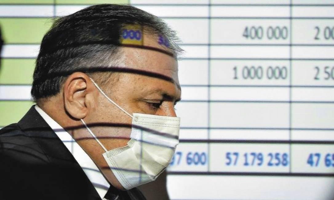 O ex-ministro da Saúde Eduardo Pazuello Foto: Foto Pablo Jacob / Agência O Globo