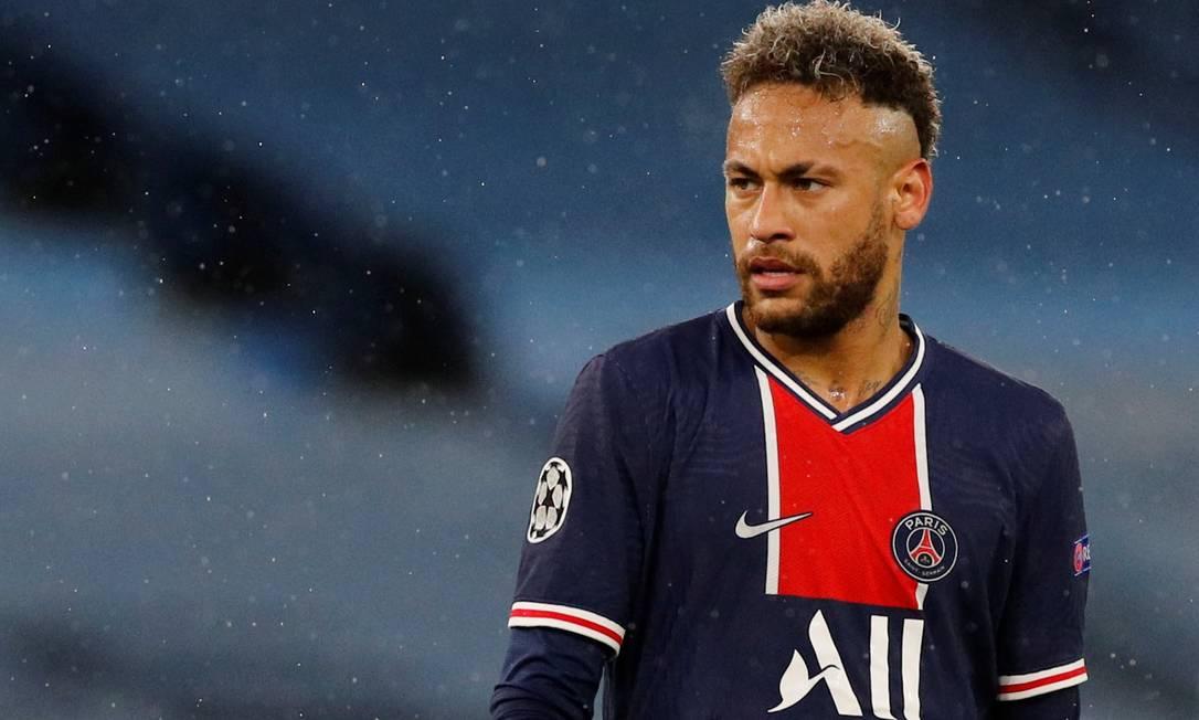 Neymar: permanência na França até os 33 anos é jogada de risco Foto: PHIL NOBLE / REUTERS