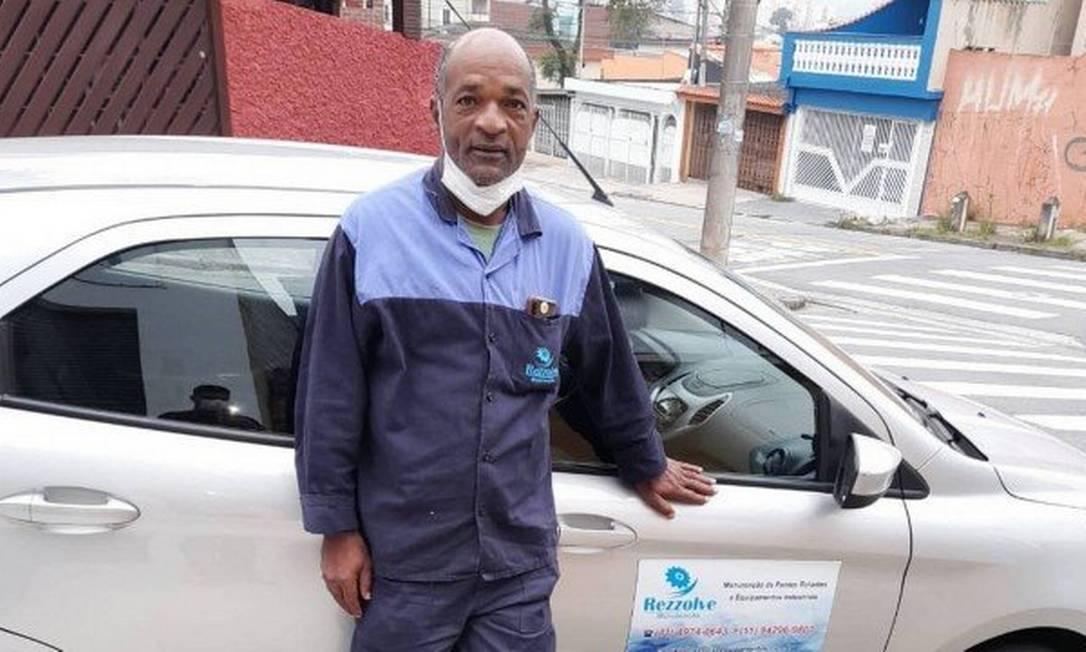 Carlos conseguiu novo emprego numa empresa em São Paulo Foto: Arquivo pessoal