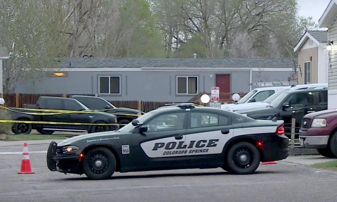 A polícia de Colorado Springs informou que no local do ataque estava sendo celebrado o aniversário de uma das vítimas Foto: Reprodução 9News