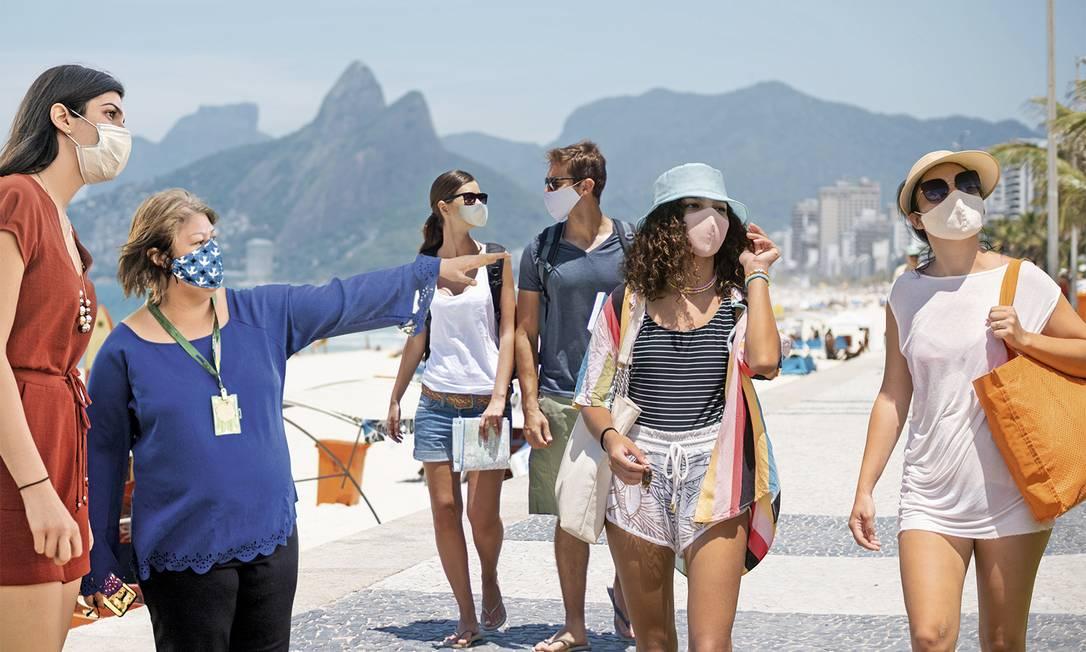 Retomada da atividade econômica do Rio de Janeiro passa pelo retorno dos turistas que, durante a pandemia, buscam viajar pelo próprio Estado Foto: Getty Images