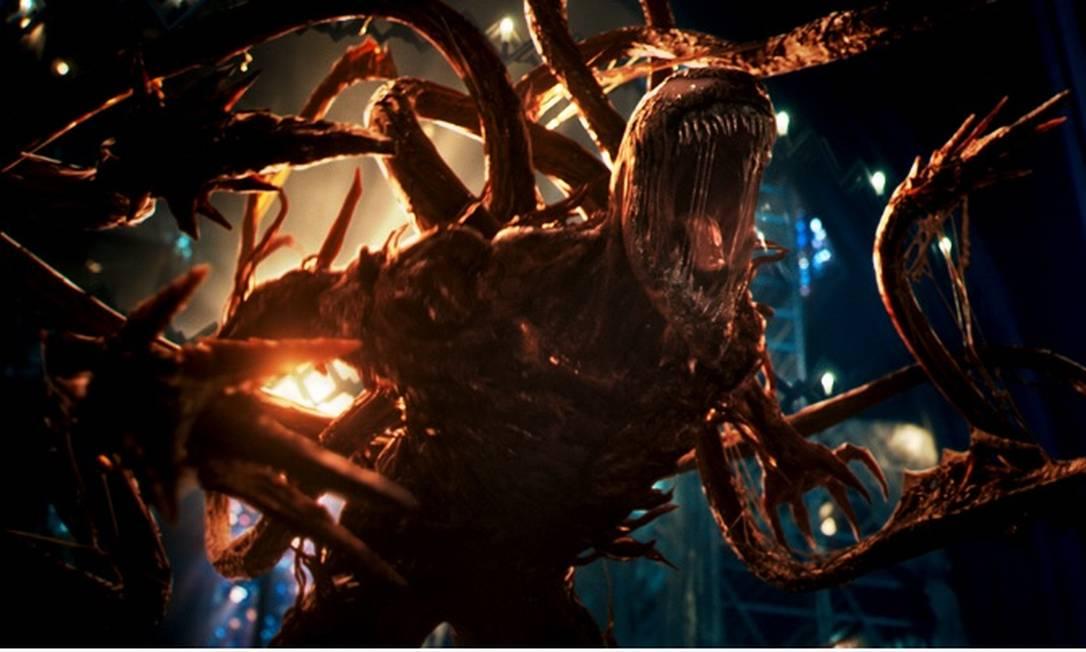 """Cena de """"Venom: tempo de Carnificina"""" Foto: Divulgação"""