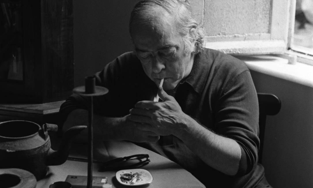 Vinicius de Moraes em foto de 1972 Foto: Osmar Gallo /Arquivo