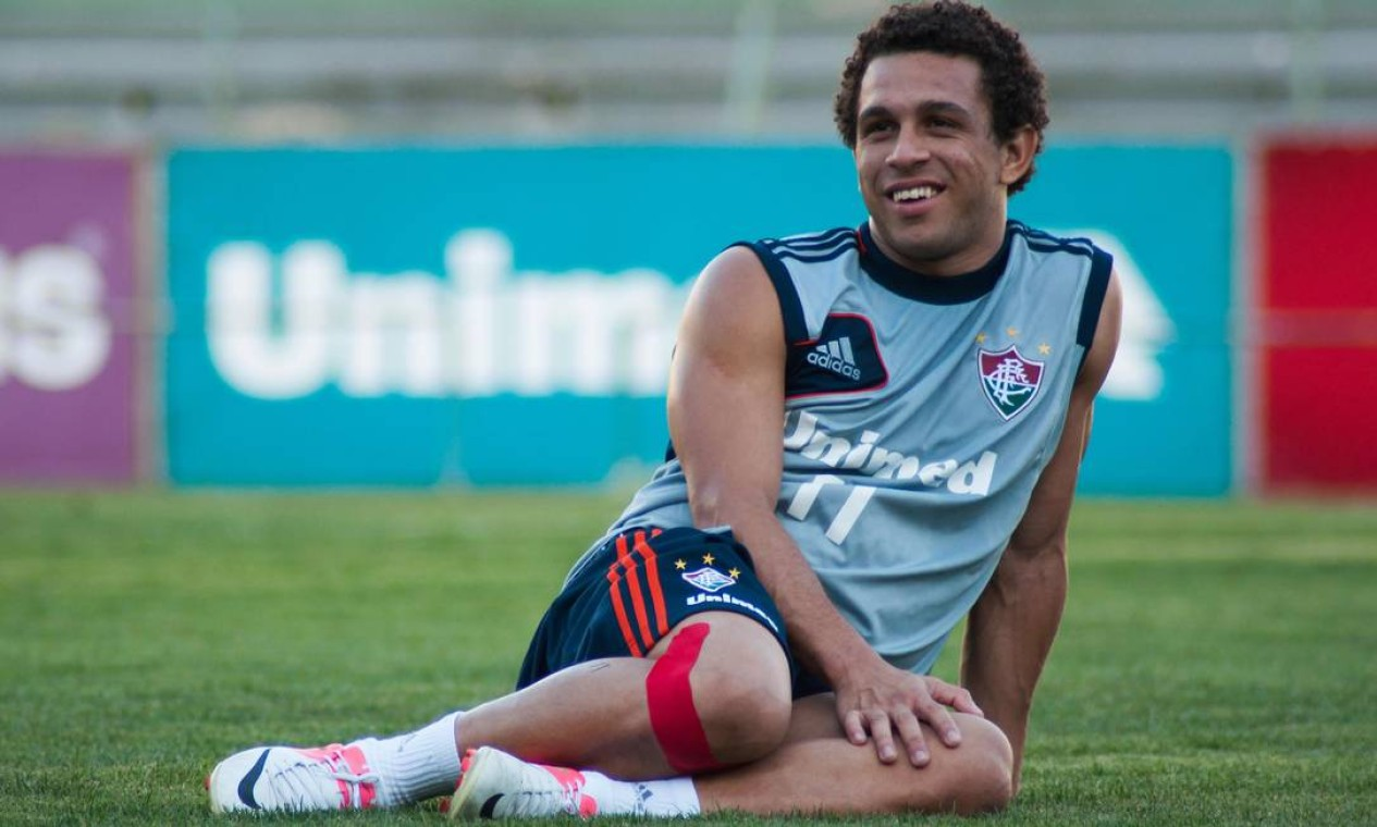 O atacante Wellington Nem foi negociado ao Shakhtar, em 2012, por R$ 15 milhões Foto: Bruno Haddad / Fluminense