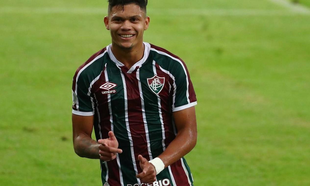 Em 2019, o Fluminense recebeu R$ 13,5 milhões pela venda de Evanilson ao Porto Foto: PILAR OLIVARES / Reuters
