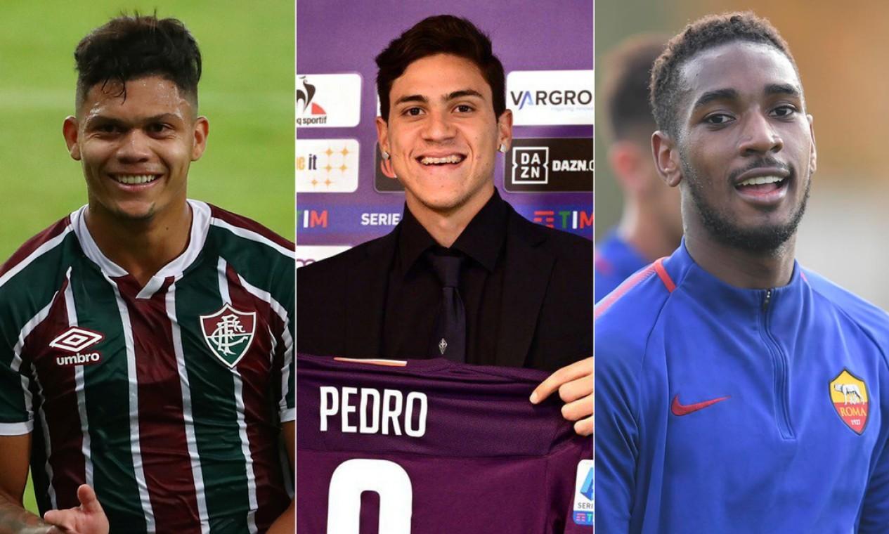 As 11 joias de Xerém que renderam mais dinheiro ao Fluminense na última década Foto: Montagem sobre fotos de divulgação