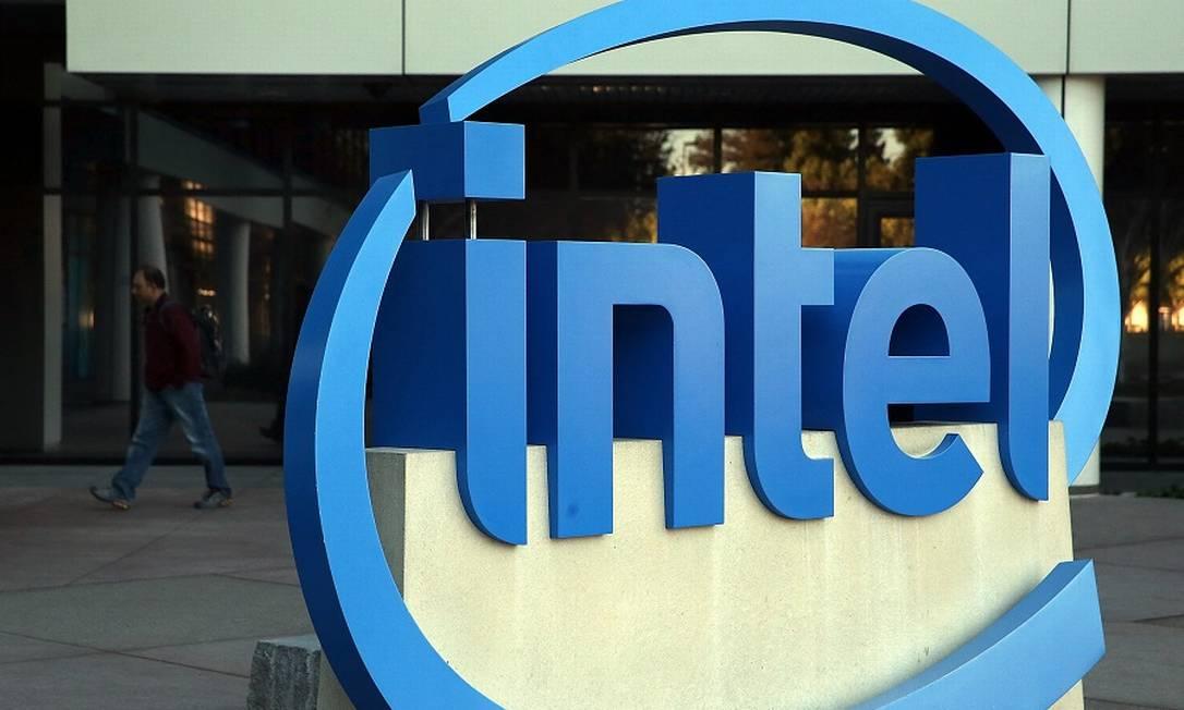 Intel, fabricante americana de chips e processadores, seria beneficiada com nova iniciativa Foto: JUSTIN SULLIVAN / AFP