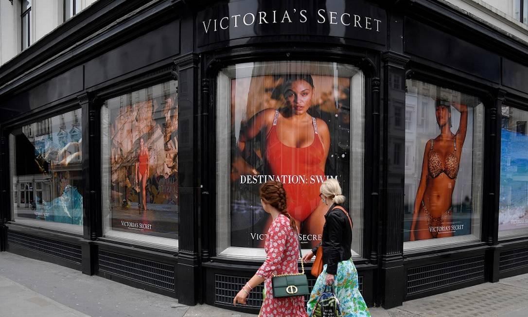 Loja da Victoria's Secret em Londres: cisão à vista Foto: TOBY MELVILLE / REUTERS