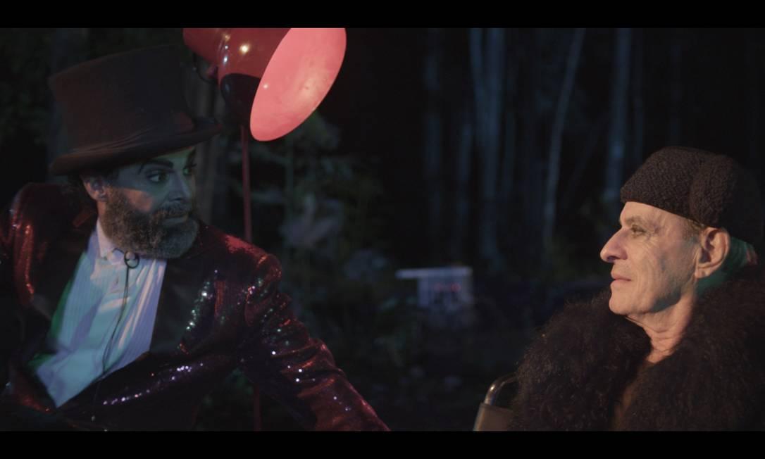 Imagem do filme 'Sol Alegria', que tem Ney Matogrosso no elenco. Foto: Divulgação