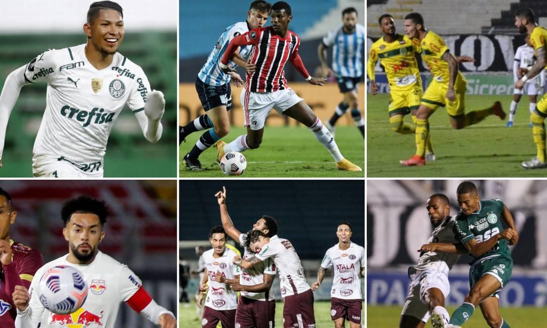 Paulistão define classificado às semifinais até sexta-feira Foto: Montagem sobre fotos