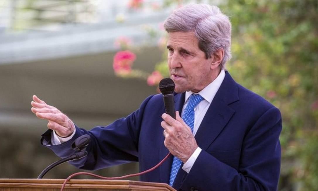 John Kerry criticou a atuação do Brasil no combate ao desmatamento Foto: EPA