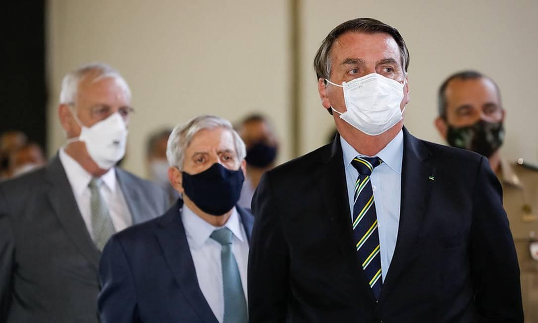 O presidente Jair Bolsonaro 12/06/2021 Foto: Alan Santos/PR