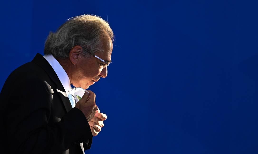 O ministro da Economia, Paulo Guedes Foto: NurPhoto / NurPhoto via Getty Images