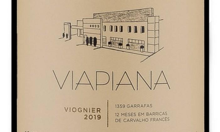 Viognier Vipiana Foto: Divulgação