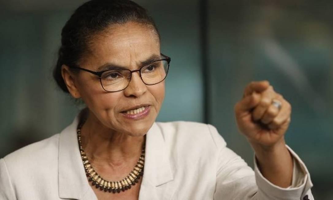 Para Marina Silva, ex-ministra do Meio Ambiente, Brasil está 'na contramão do mundo' Foto: Márcia Foletto
