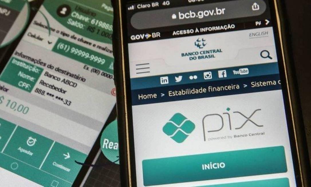 Pix, o sistema de transferências instantâneas do BC Foto: Infoglobo
