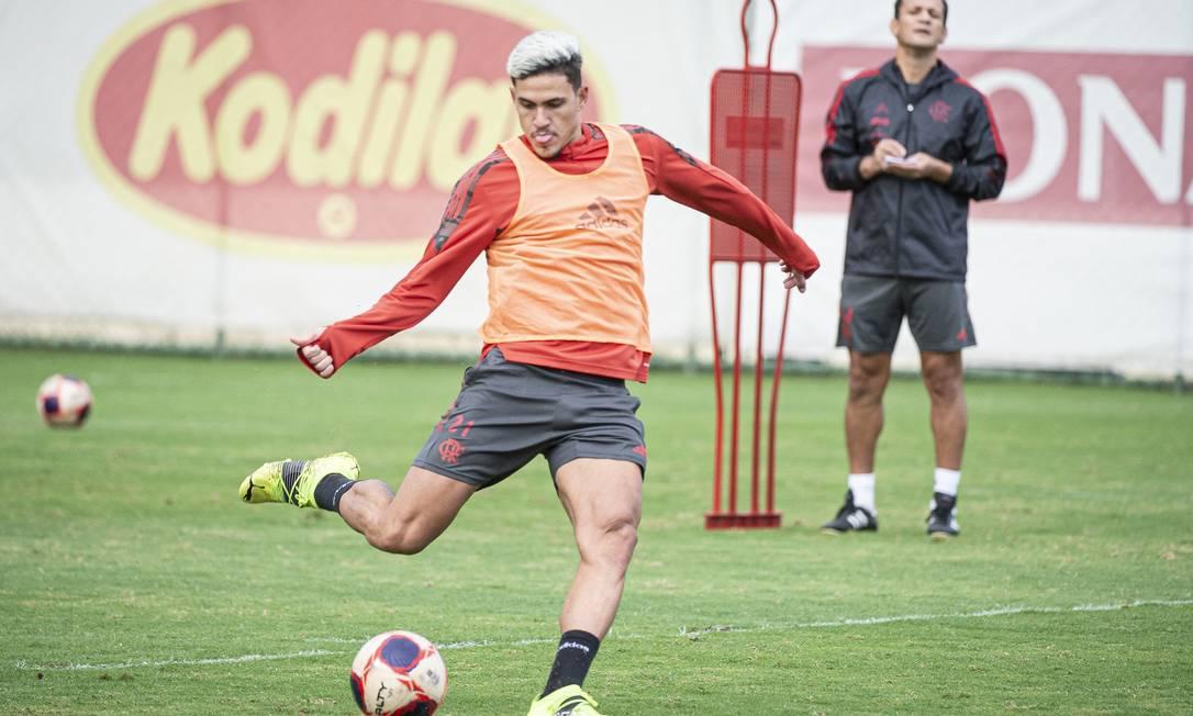 Pedro foi convocado para a seleção olímpica Foto: Foto: Alexandre Vidal / Flamengo / Agência O Globo