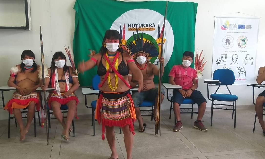 Lideranças Yanomami confirmam morte de crianças durante ataque de garimpeiros em Roraima Foto: Divulgação