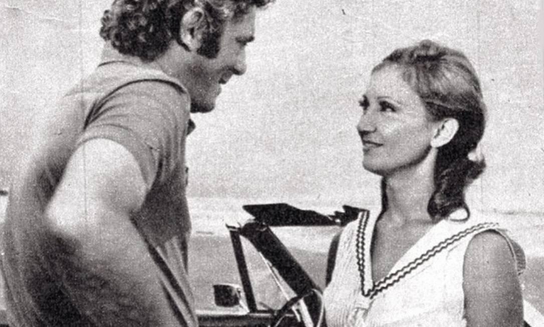 """Eva Wilma em cena na primeira versão da novela """"Mulheres de Areia"""" (1974)"""