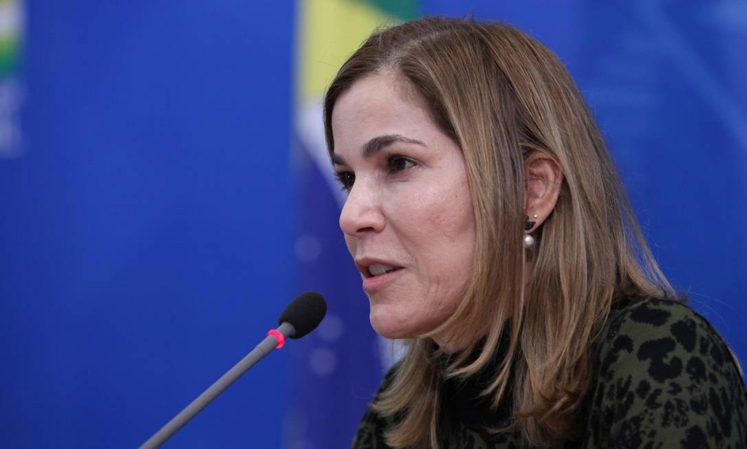 A médica Mayra Pinheiro: depoimento previsto na CPI Foto: Júlio Nascimento/PR / Agência O Globo