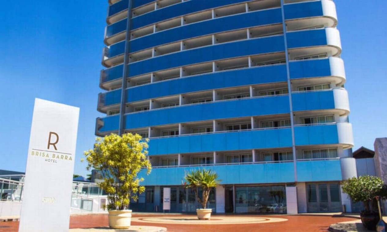 Fachada do hotel, na Barra da Tijuca, onde MC Kevin estava hospedado Foto: Divulgação