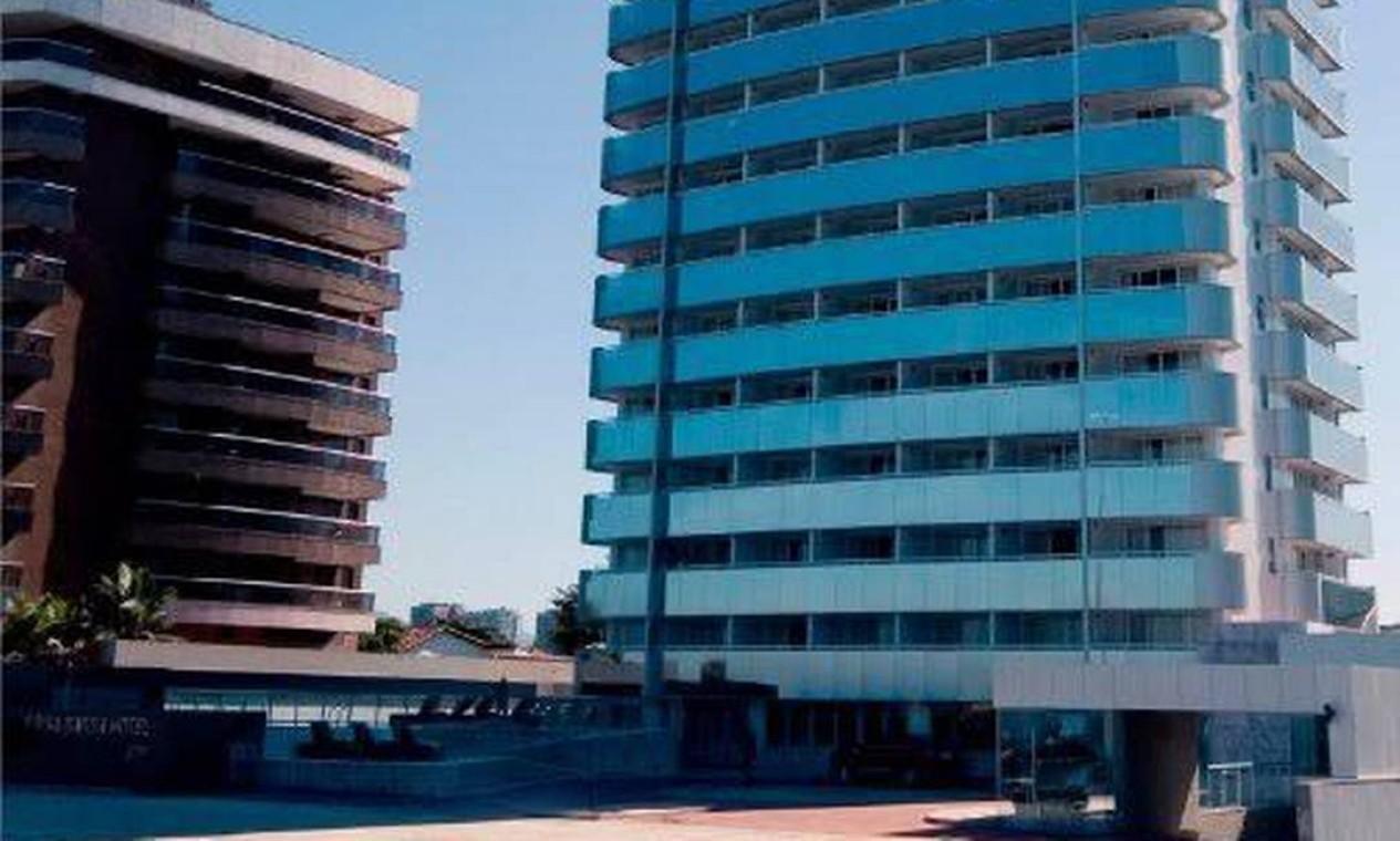Os dois quartos dos hotel, onde Kevin estava hospedado e do casal de amigos, foram periciados pelos agentes da Polícia Civil, que abriu inquérito Foto: Divulgação