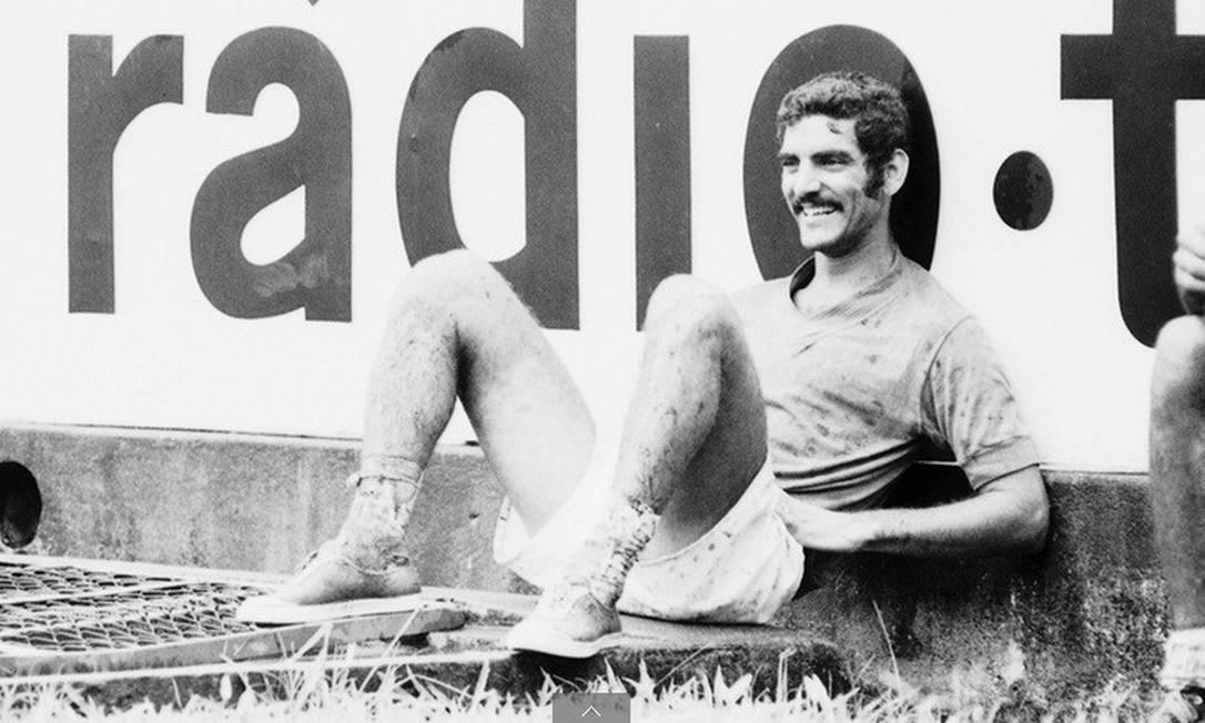 Morre Rildo, aos 79 anos Foto: Centro de Memória do Santos FC
